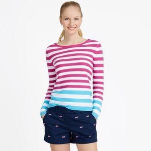 VINEYARD VINES Striped  Crewneck Sweater XL